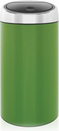 Ведро для мусора 45л зелёное Brabantia TOUCH BIN 424441
