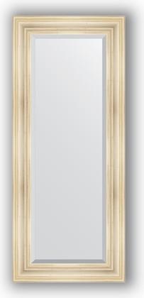 Зеркало с фацетом в багетной раме 59x139см травленое серебро 99мм Evoform BY 3523