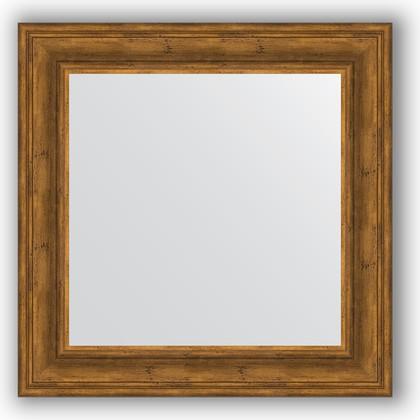 Зеркало в багетной раме 72x72см травленая бронза 99мм Evoform BY 3157