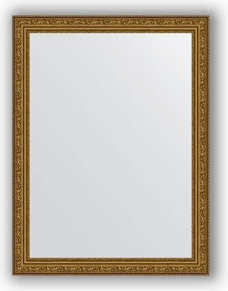 Зеркало в багетной раме 64x84см виньетка состаренное золото 56мм Evoform BY 3167