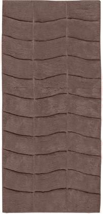 Коврик для ванной комнаты хлопковый 50x120см серо-коричневый Spirella MANHATTAN 4006925