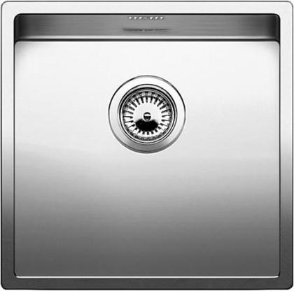 Кухонная мойка без крыла, нержавеющая сталь зеркальной полировки Blanco CLARON 400-U 517213