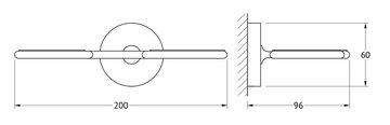Дозатор для жидкого мыла с мыльницей настенные матовый хрусталь/хром Ellux ELE 008/ELU 006/ELU 004