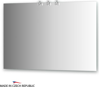 Зеркало 110х75см со светильниками Ellux CRY-B3 0214