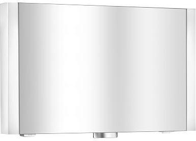 Зеркальный шкаф 100x61см однодверный с подсветкой Keuco ROYAL METROPOL 14002171201