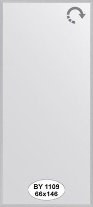 Зеркало 66x146см в багетной раме сталь Evoform BY 1109