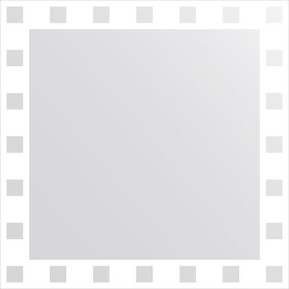 Зеркало для ванной с орнаментом 70x70см FBS CZ 0738