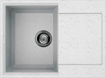 Кухонная мойка оборачиваемая с крылом, гранит, эверест Omoikiri Sakaime 68-EV 4993194