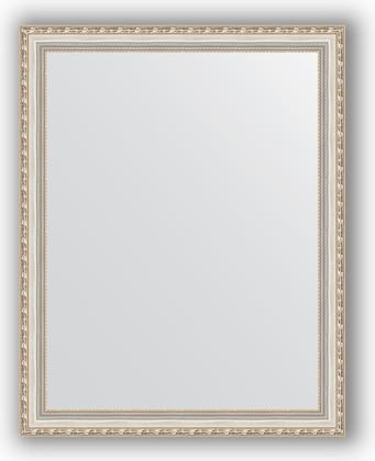 Зеркало в багетной раме 75x95см версаль серебро 64мм Evoform BY 3270