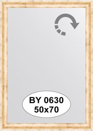 Зеркало 50x70см в багетной раме красная бронза Evoform BY 0630