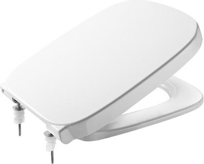 Сиденье для унитаза с крышкой и системой плавного опускания, белое Roca DEBBA 8019D2004