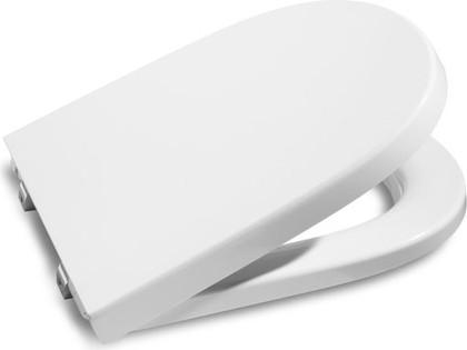 """Компактное лакированное сиденье и крышка для унитаза с механизмом """"мягкое закрывание"""", белый Roca MERIDIAN 8012AC004"""