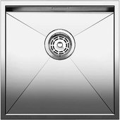 Кухонная мойка без крыла, нержавеющая сталь зеркальной полировки Blanco ZEROX 400-U 517241