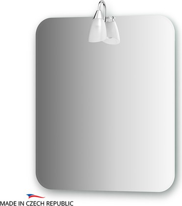 Зеркало со светильником 60х70см Ellux CLA-A1 0038