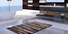 Коврик для ванной 60x60см бежевый пёстрый Grund TARA 3620.64.319
