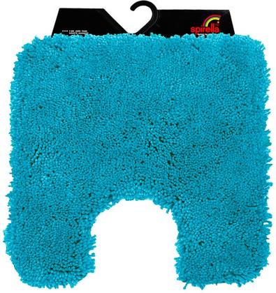 Коврик для туалета 55x55см голубой Spirella HIGHLAND 1014176