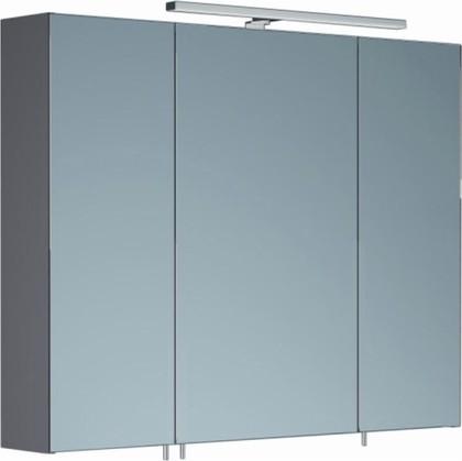 Шкаф зеркальный со светильником, 3 двери 90x15x70см Verona Area+ AA604R