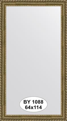Зеркало 64x114см в багетной раме золотой акведук Evoform BY 1088