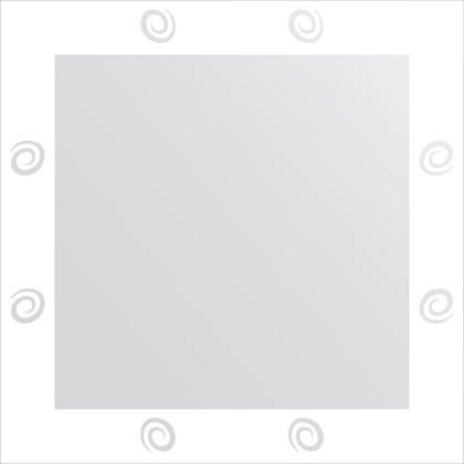 Зеркало для ванной с орнаментом 60x60см FBS CZ 0707