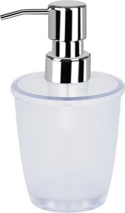 Ёмкость для жидкого мыла белая Spirella TORONTO 1006444