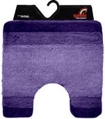 Коврик для туалета 55x55см Spirella BALANCE фиолетовый 1014448