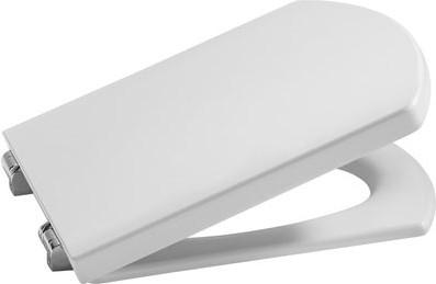 """Компактное лакированное сиденье и крышка для унитаза с механизмом """"мягкое закрывание"""", белый Roca HALL 801622004"""