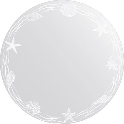 Зеркало для ванной с орнаментом диаметр 60см FBS CZ 0764