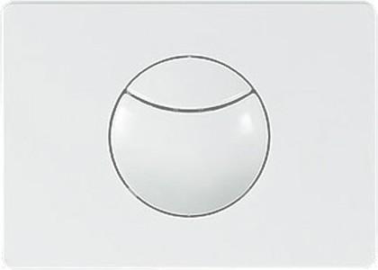 Клавиша смыва для инсталляции для унитаза, белая Sanit 16.703.01..0000
