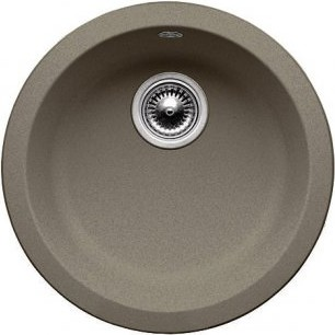 Кухонная мойка без крыла, гранит, серый беж Blanco RONDO 517387