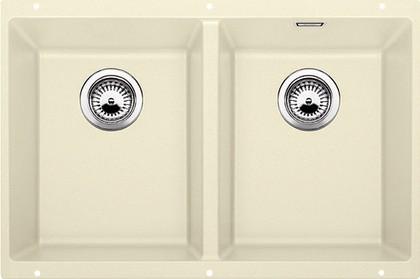 Кухонная мойка без крыла, с клапаном-автоматом, гранит, жасмин Blanco SUBLINE 350/350-U 516288