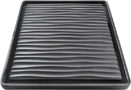 Поддон пластик графитовый чёрный 430x380мм Blanco 230734