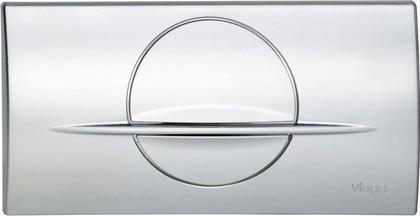 Кнопка смыва для инсталляции для унитаза пластиковая хромированная Viega Visign for Life 2 463076