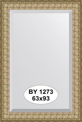 Зеркало 63x93см с фацетом 30мм в багетной раме медный эльдорадо Evoform BY 1273