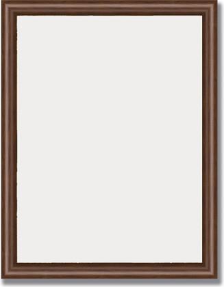 Зеркало 35x45см в багетной раме орех Evoform BY 1324