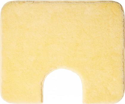 Коврик с вырезом под туалет 60x50см жёлтый Grund COMFORT WC 2399.06.4089
