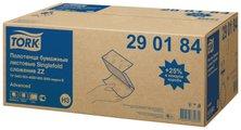 Листовые бумажные полотенца для рук сложения ZZ Tork Advanced 290184