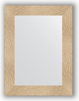 Зеркало в багетной раме 60x80см золотые дюны 90мм Evoform BY 3053