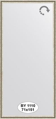 Зеркало 71x151см в багетной раме мельхиор Evoform BY 1110
