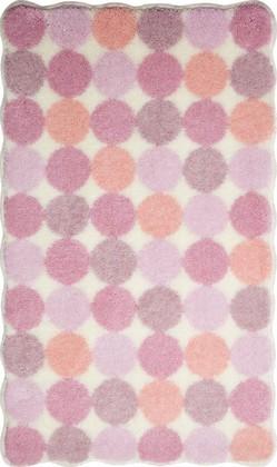 Коврик для ванной 60x100см розовый Grund AGARTI 3618.16.261