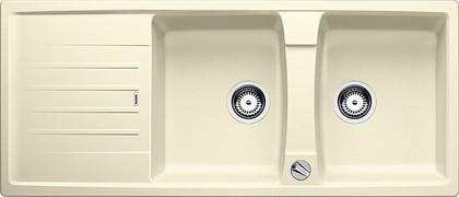 Кухонная мойка оборачиваемая с крылом, с клапаном-автоматом, гранит, жасмин Blanco LEXA 8 S 514703