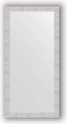 Зеркало в багетной раме 76x156см соты алюминий 70мм Evoform BY 3339