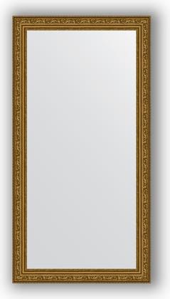 Зеркало в багетной раме 54x104см виньетка состаренное золото 56мм Evoform BY 3071