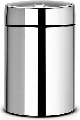 Мусорный бак 5л сталь полированная Brabantia SLIDE BIN 477560