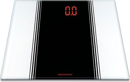 Весы напольные электронные белые 150кг/100гр Soehnle Sensation 63327