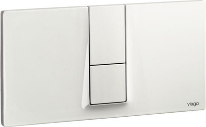Кнопка смыва для унитаза пластиковая белая Viega Visign for Style 14 654689