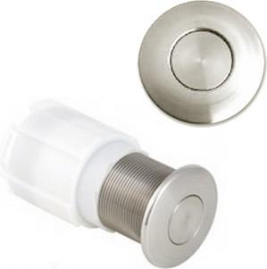 Пневмокнопка управления одинарным смывом унитаза, для установки в мебель, хром глянцевый Geberit 115.947.21.1