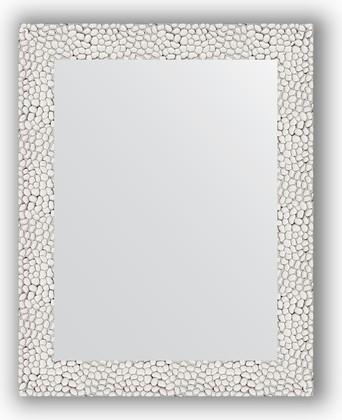 Зеркало в багетной раме 38x48см чеканка белая 46мм Evoform BY 3002