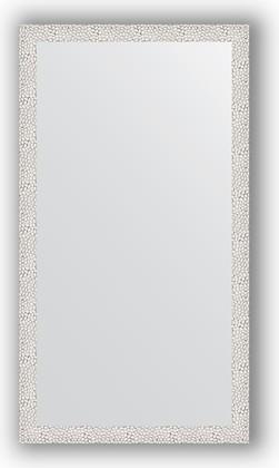 Зеркало в багетной раме 61x111см чеканка белая 46мм Evoform BY 3194
