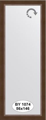 Зеркало 56x146см в багетной раме орех Evoform BY 1074