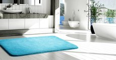 Коврик для ванной 50x80см голубой Grund LEX 2622.11.4174